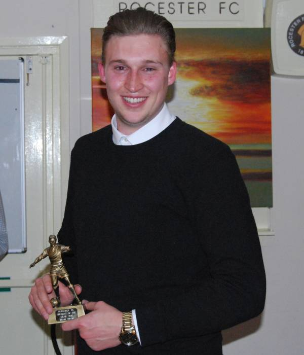 Club Man of the Season Liam Shaw